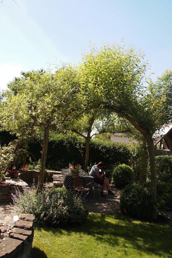 Pavilion im Garten