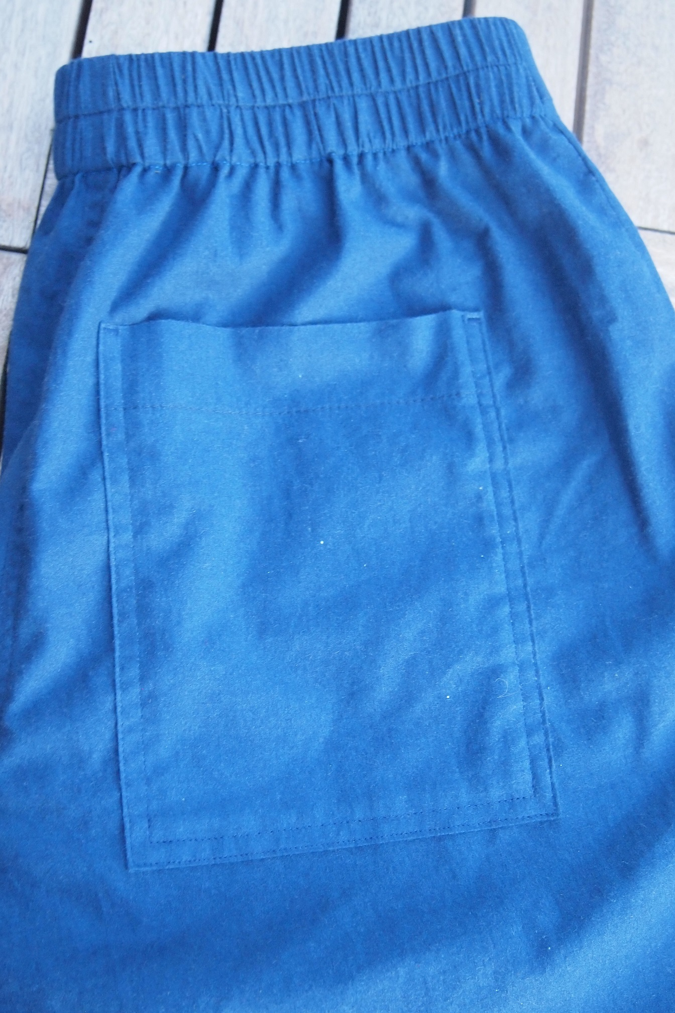 Rückwärtige Hose